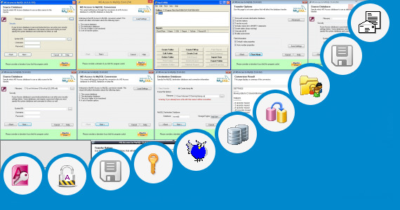 Software collection for Microsoft Access Personnel Database