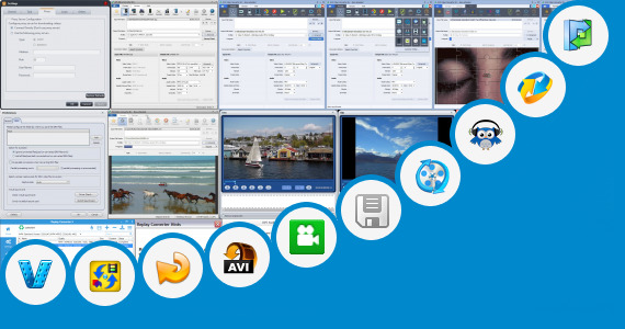 Software collection for Online Converter Kmz File To Avi