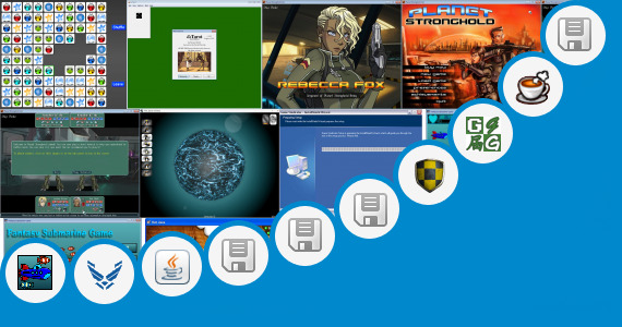 Software collection for Game Stronghold Java