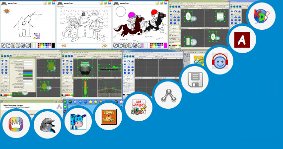 Software collection for Easy Scenery Drawing For Kids