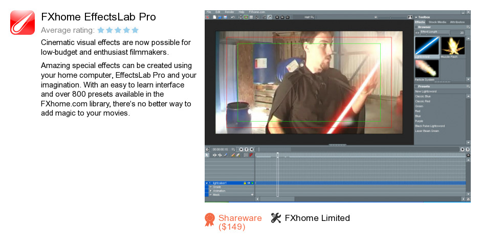 FXhome EffectsLab Pro