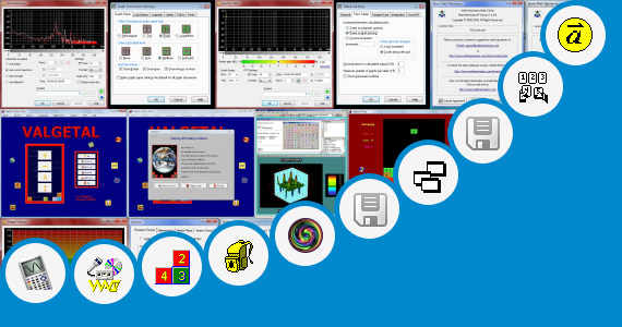 Software collection for Mathematics 3d Background