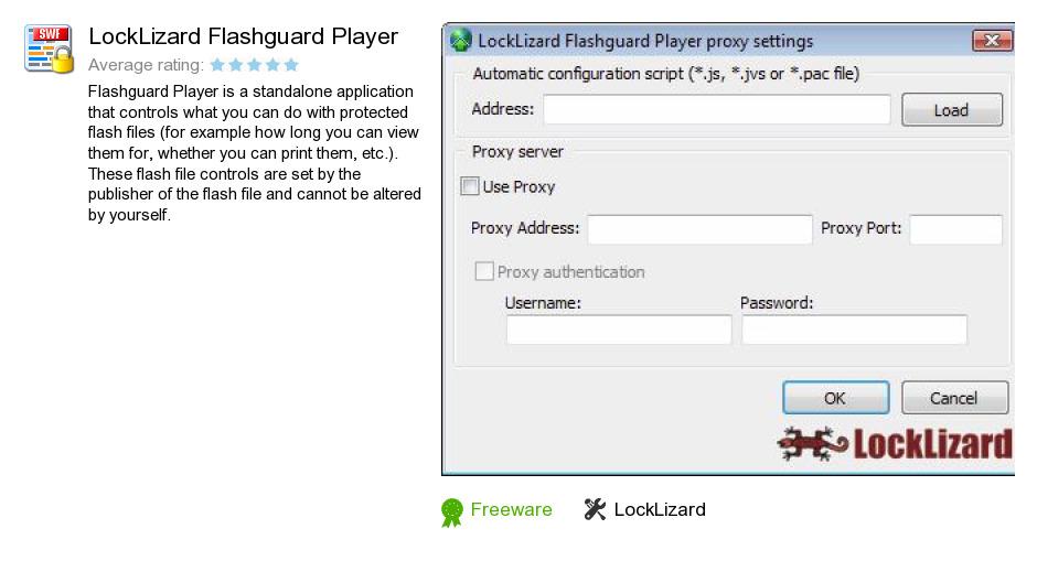 LockLizard Flashguard Player