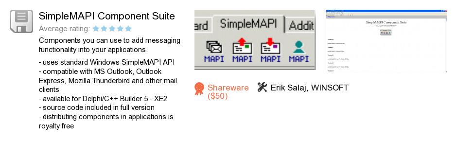 SimpleMAPI Component Suite