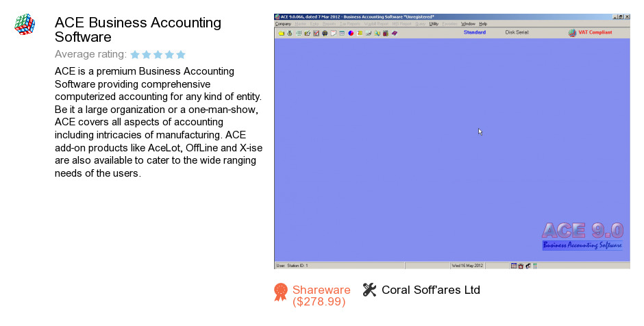 ACE Business Accounting Software