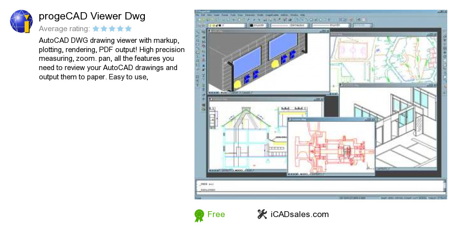 ProgeCAD Viewer Dwg