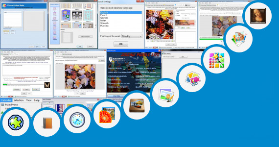 Software collection for Jigsaw Collage Maker