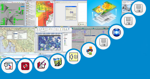 Software collection for Pinpoint Office Locations Map