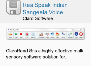RealSpeak Indian Sangeeta Voice