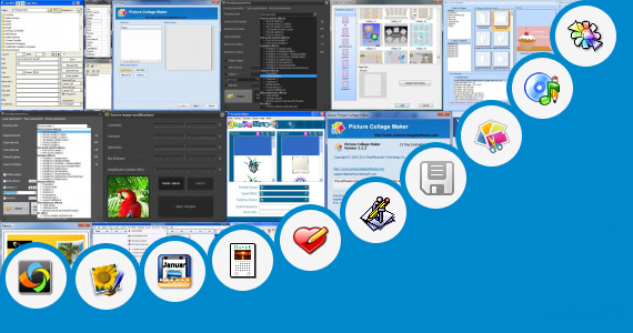 Software collection for Happy 1st Birthday Picture Editor