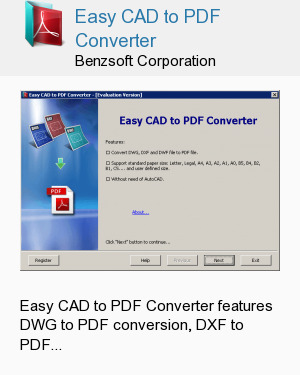 Easy CAD to PDF Converter