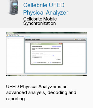 Cellebrite UFED Physical Analyzer