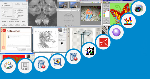 Software collection for Jasc Paint Photo Shop