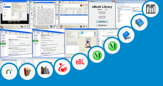 Software collection for Ebooks Organizer