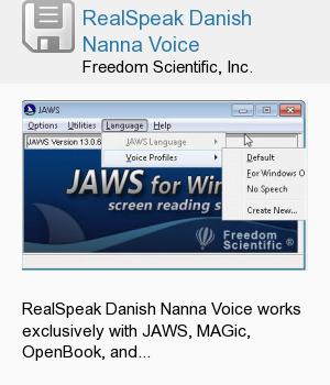 RealSpeak Danish Nanna Voice