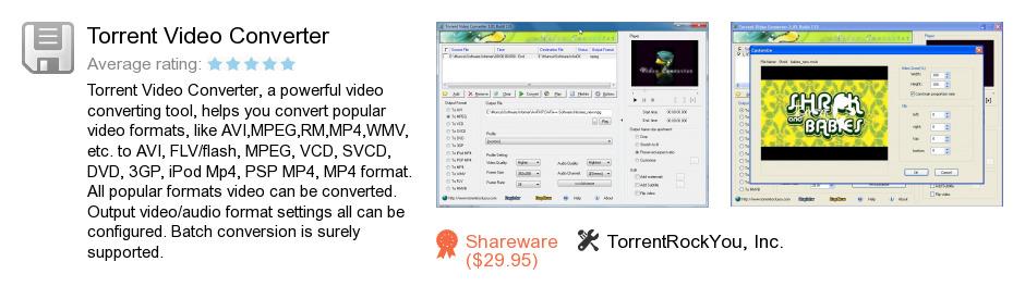 Torrent Video Converter