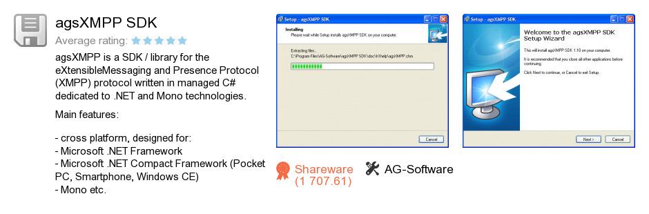 AgsXMPP SDK