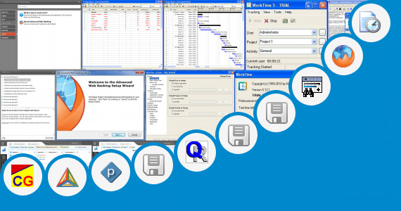 Software collection for Project Report On Company Visit