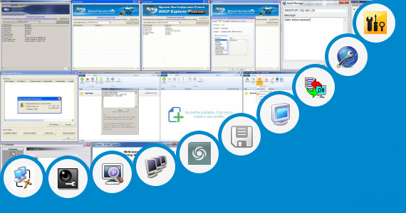 Software collection for Windows Dhcp Tool