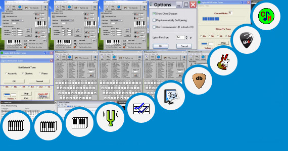 Software collection for Guitar Tone Software