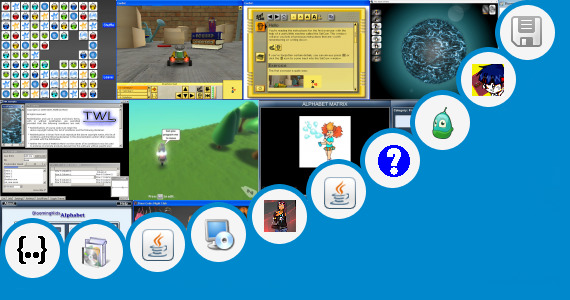 Software collection for Java Code Abc Kids Game