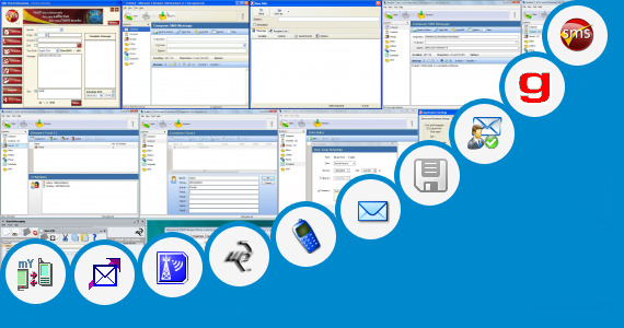 Software collection for Sms Auto Sender Application