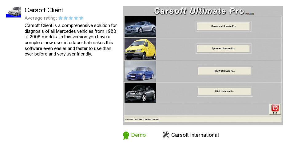 Carsoft Client