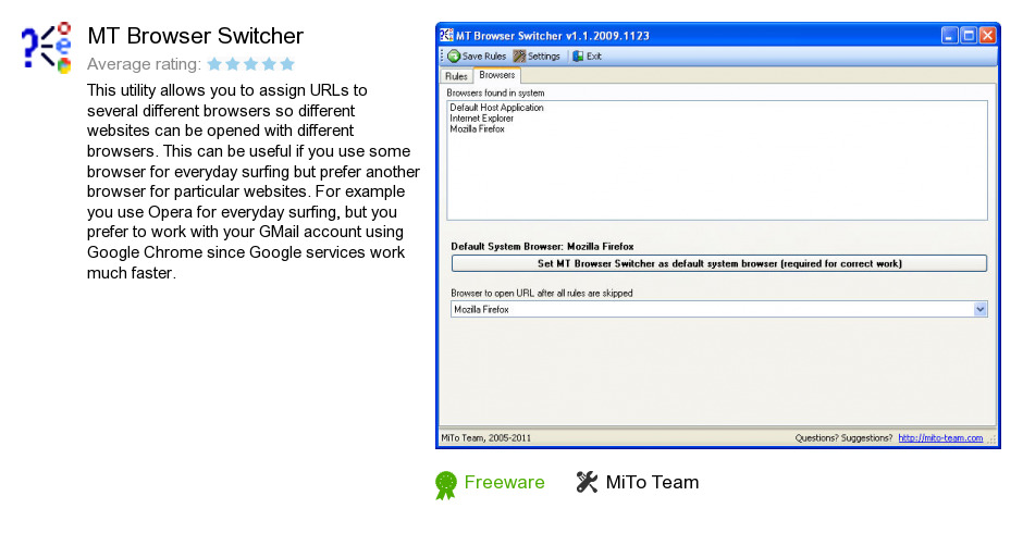 MT Browser Switcher