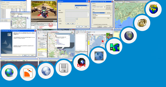 Software collection for Gps Data Calculation Software