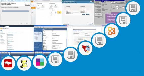 Software collection for Ticker Web Part Sharepoint 2010