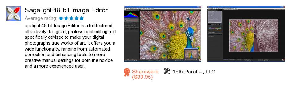Sagelight 48-bit Image Editor
