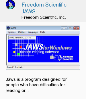 Freedom Scientific JAWS