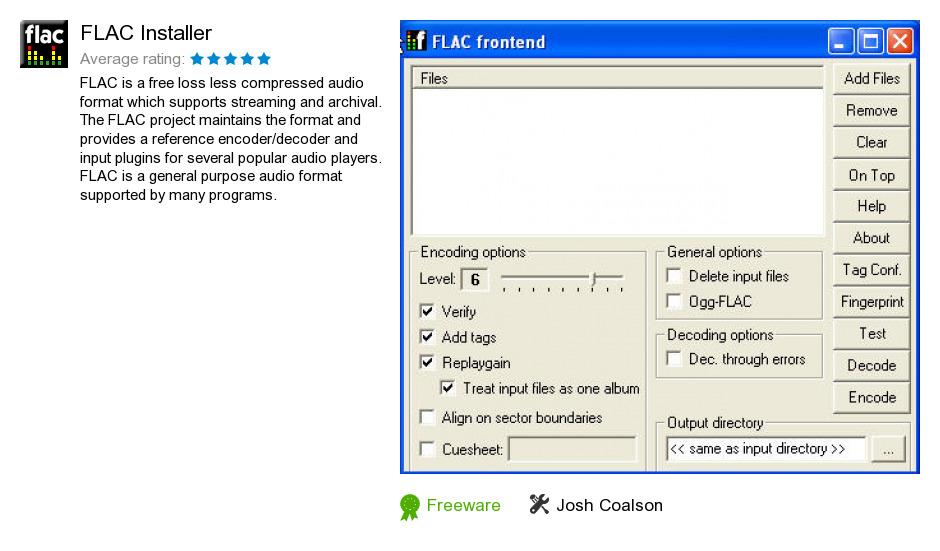 FLAC Installer