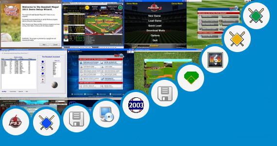 Software collection for Pc Baseball Games 2013