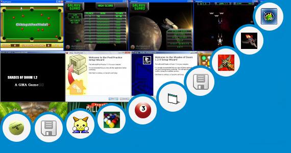 Software collection for Games Guns Shot Sounds Jar