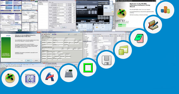 Software collection for Retail Daily Sales Report Template