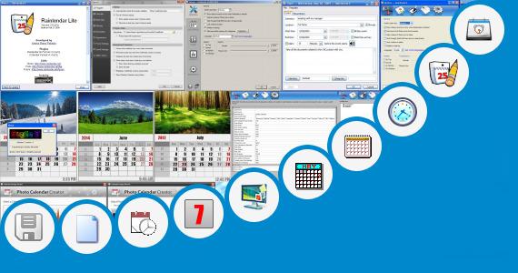Software collection for Year Calendar 2013 Desktop Gadget
