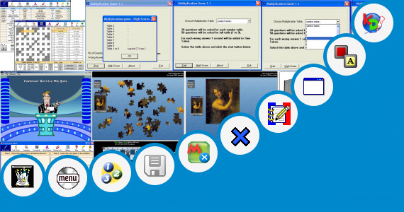 Software collection for Tablet Pc Educational Games