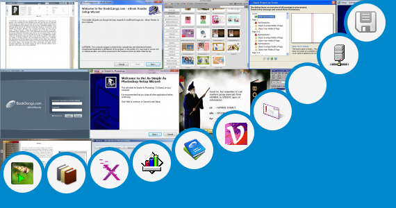 Software collection for Windows 7 Tutorial Book In Hindi