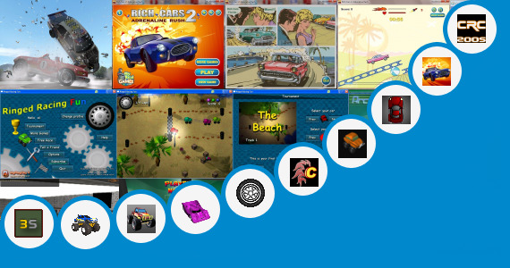 Software collection for Car Racing Games 200kb