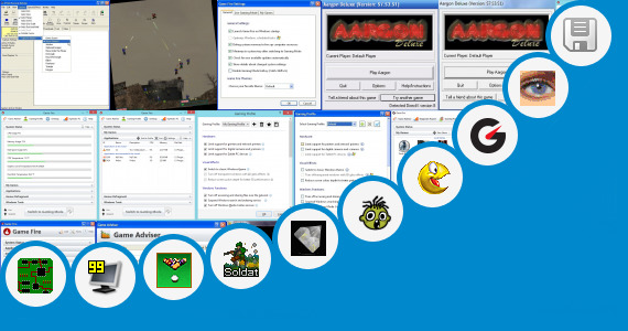 Software collection for Counter Strike Touch Screen Game