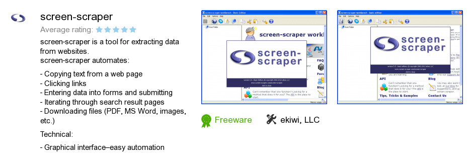 Screen-scraper
