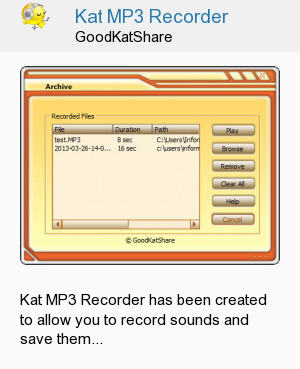 Kat MP3 Recorder