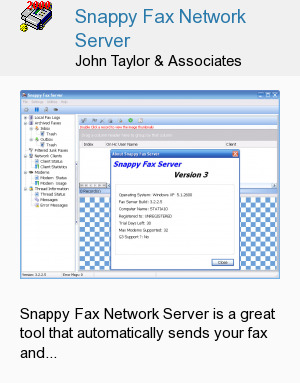 Snappy Fax Network Server