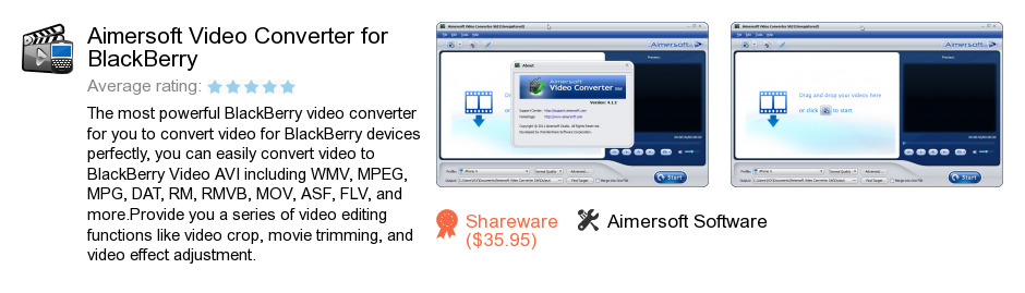 Aimersoft Video Converter for BlackBerry