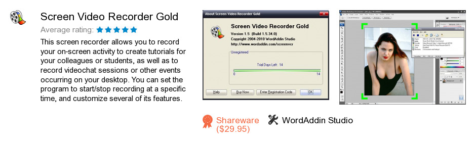 Screen Video Recorder Gold