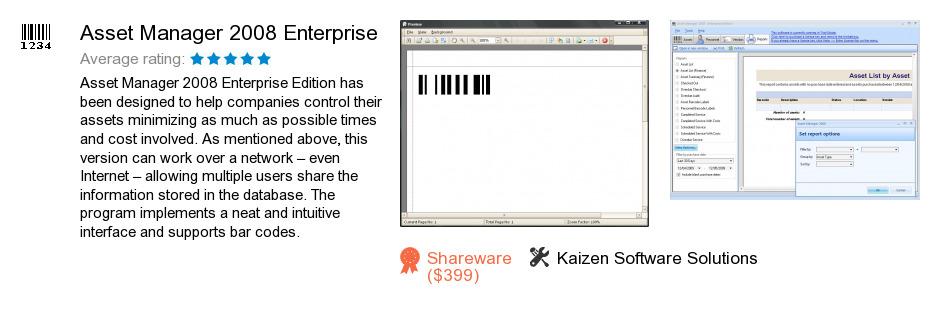 Asset Manager 2008 Enterprise