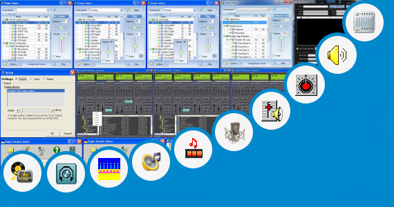 Software collection for Gambar Mixer Sound