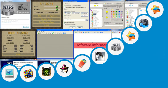 Software collection for Magic Uneraser Tutorial