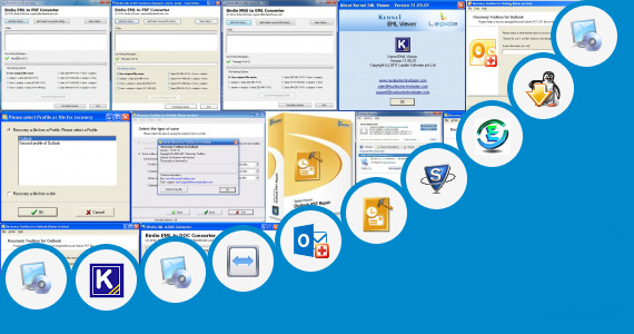 Software collection for Eml Outlook Portable